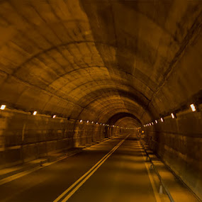 Endless tunnel by Ty Yang - Buildings & Architecture Other Interior ( road, tunnel )