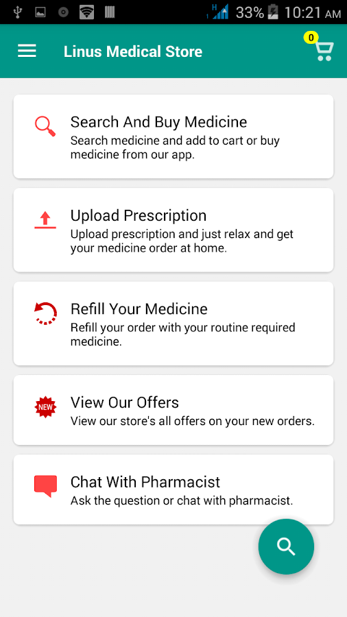 Linus Medical Store- screenshot