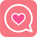Lover matching-swipe LOVE- icon