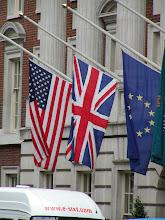 Photo: Flags at half mast