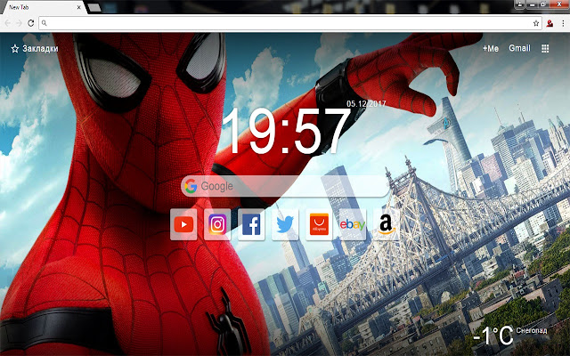 Spiderman  - New Tab Wallpapers & Themes HD