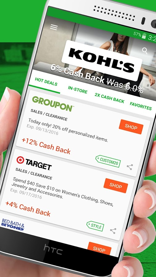 Ebates: Coupons & Cash Back- screenshot