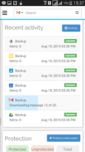 Spinbackup - Backup & Restore- screenshot thumbnail