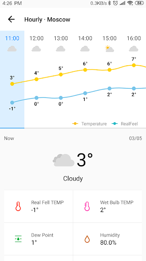 Weather Forecast - live weather radar 1.0.5 screenshots 3