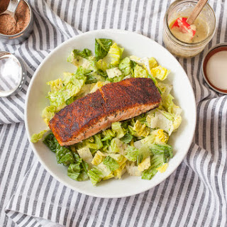 Blackened Salmon Caesar