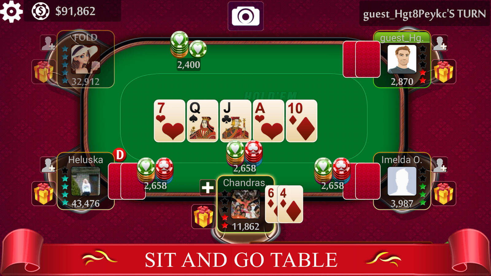 Android Texas Holdem Games - Online Compatible Devices and Sites