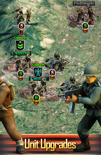 Frontline: Western Front - WW2 Strategy War Game screenshots 3