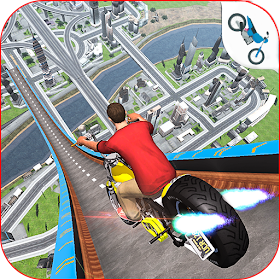 Offroad Mega Ramp Bike Stunts Adventure 19