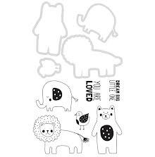 Kaisercraft Dies & Stamps - Baby Animals