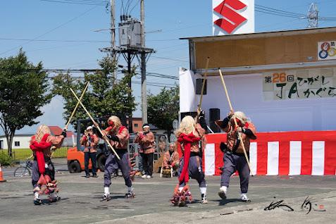 神楽獅子舞保存会の演舞