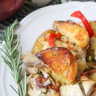 Rosemary Roasted Chicken & Potatoes – Gluten Free