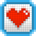Sticky Pixels - Coloring Book Icon