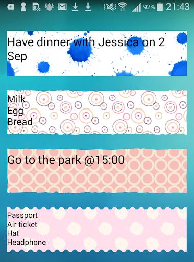 玩免費個人化APP|下載Sticky Memo Notepad *Dots*Lite app不用錢|硬是要APP