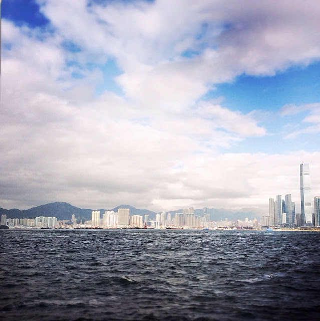 Hong Kong, Harbor, Sea, Sky, Land  香港, 海, 天, 地, view