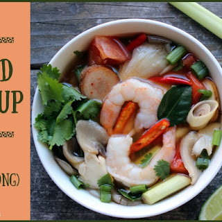 Hot and Sour Soup with Shrimp (Tom Yum Goong) Recipe