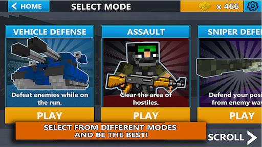 Cube Wars Battle Survival apkdebit screenshots 1