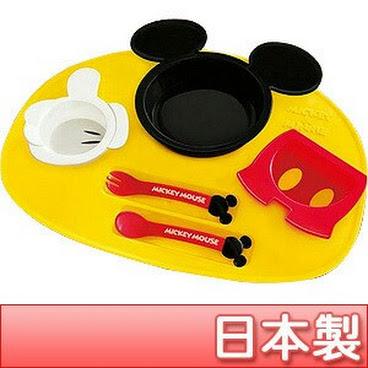 日本製廸士尼餐具套裝 - 米奇