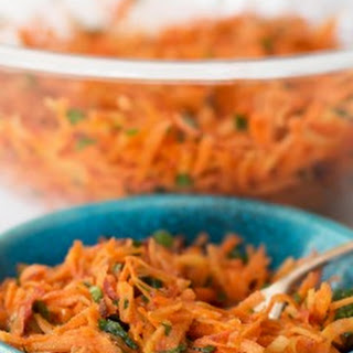 Moroccan Shredded Carrot Salad.