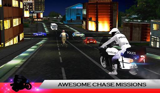 Police Moto: Criminal Chase screenshot 12