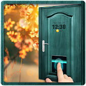 Door Fingerprint Lock Screen& lock screen with pin