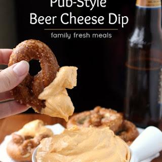 Pub Style Beer Cheese Dip.