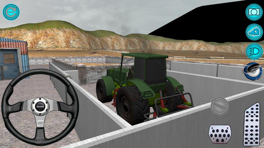 android Traktör: Simülatör 3D 2016 Screenshot 2