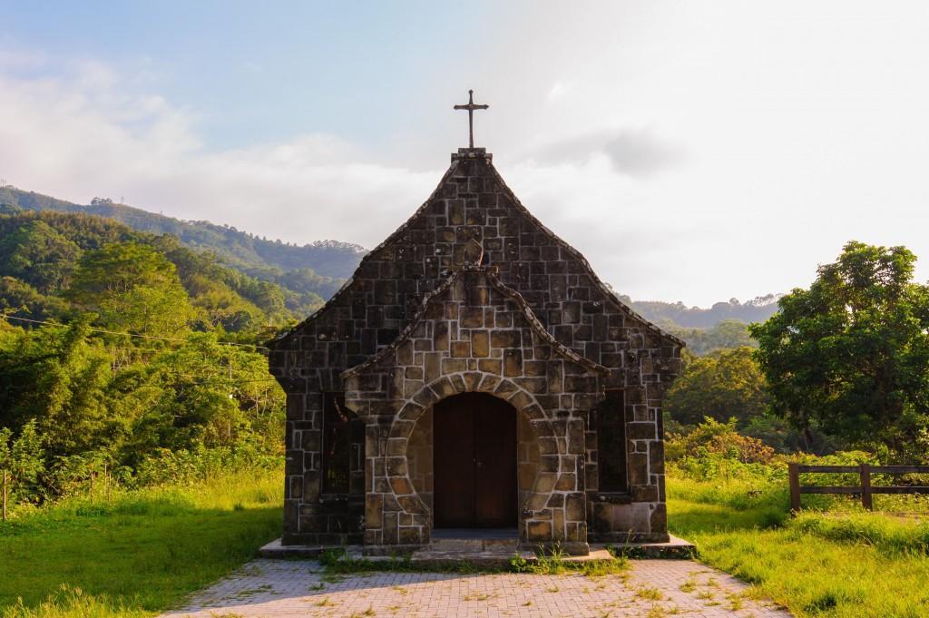 a beautiful church in taoyuan, taiwan