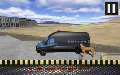 Police German Shepherd