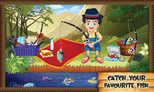寶寶釣魚和烹飪躁狂症