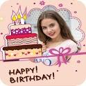 Birthday frames photo   Cake Photo Frame Apps icon