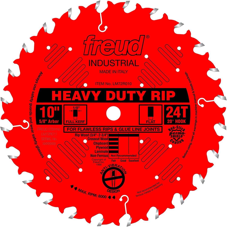 Freud 10-Inch Heavy-Duty Rip Blade