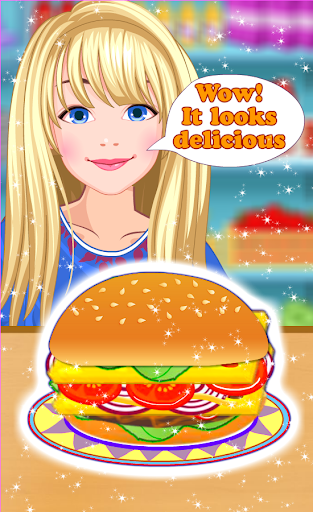 Burger Maker - Girl Cooking  screenshots 3
