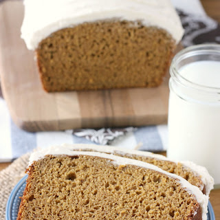 Pumpkin Bread with Maple Buttercream
