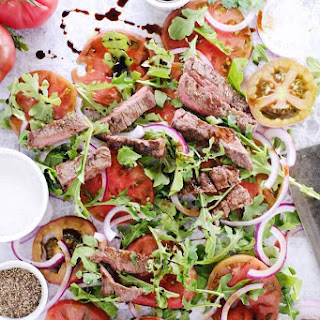 Simple Steak Salad (Paleo, GF + Dairy-Free).