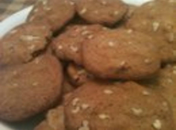 Grandma's Pecan Cookies Recipe