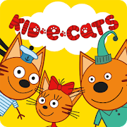 Kid-E-Cats: Picnic with Three Cats! Kitty Cat!