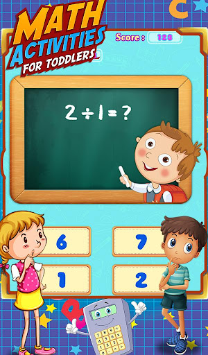Math Activities For Toddlers