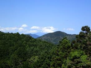 富士山も見える(右は梵天山)