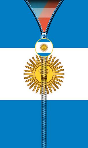 玩免費工具APP|下載Argentina Flag Zipper UnLock app不用錢|硬是要APP