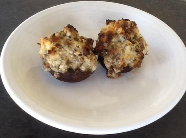 Chèvre And Sausage Stuffed Mushrooms Recipe