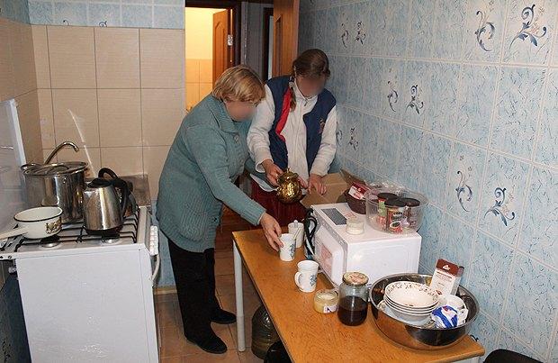 Будни квартиры поддерживающего проживания веселовского интерната