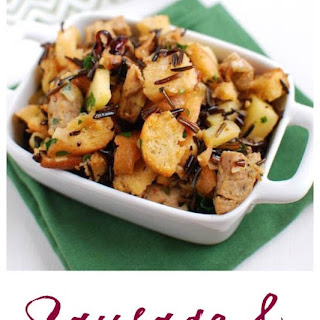Sausage and Wild Rice Stuffing Recipe