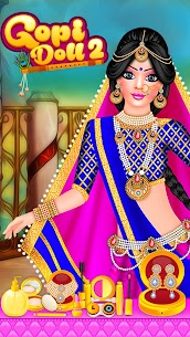Gopi Doll Fashion Salon 2 – Dress Up Game 1