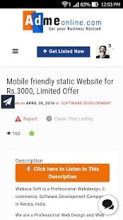 Adme Online screenshot
