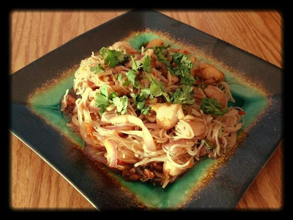 Asian Style Chicken Noodle Bowl Recipe