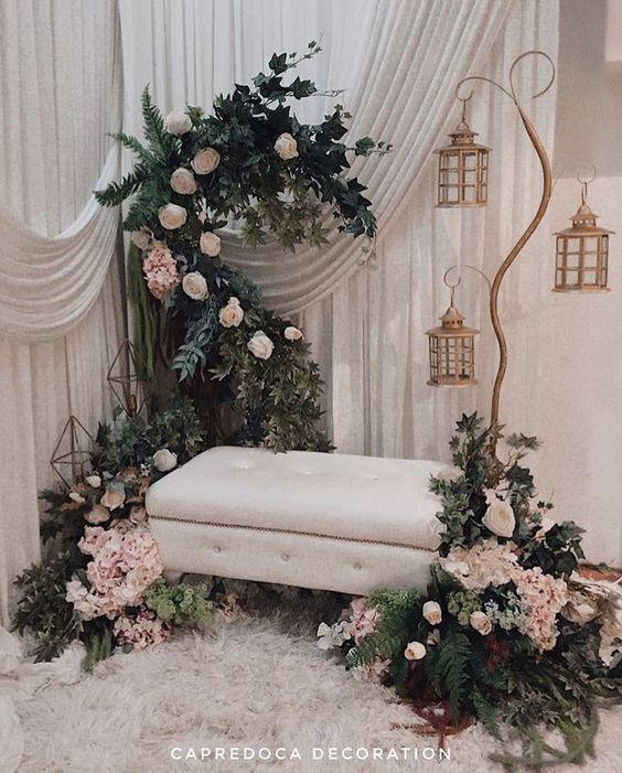 Every guest would like to wish the bride and groom good luck... Create a video messaging booth complete with an elegant backdrop - wedding ideas - wedding planning services in Philadelphia PA - wedding coordination ideas blog by K'Mich