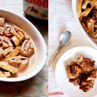 Chocolate Bread Pudding With Chocolate Milk Recipes