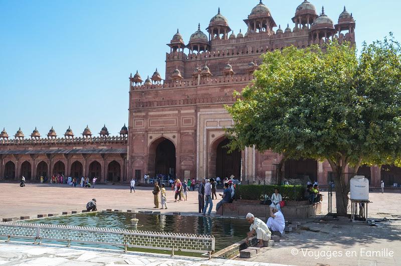 Fatehpur sikir, porte sud Jama masjid