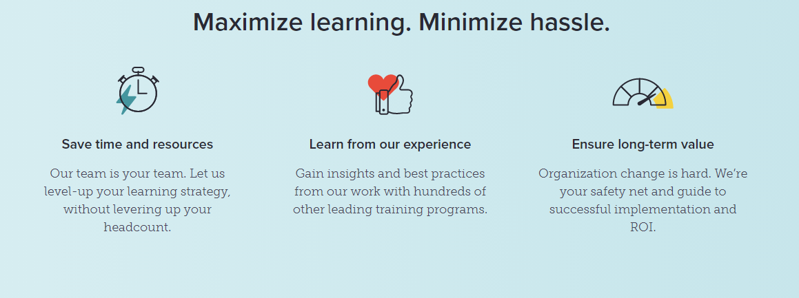 Lessonly microlearning platform