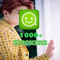 BTS Stickers (WaStickerapps) icon
